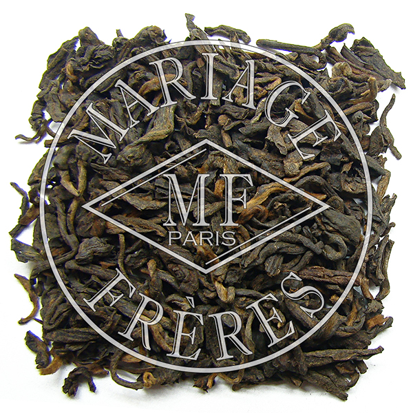 T8009 - EARL GREY PU-ERH Matured tea with bergamot scent