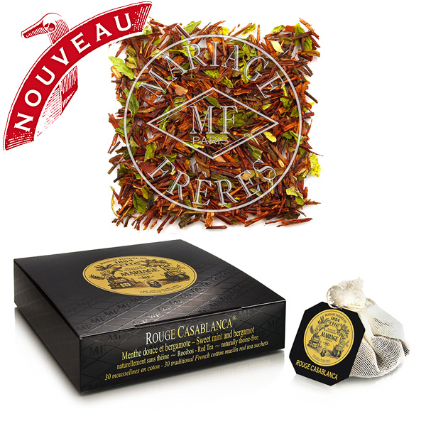 TB648 - ROUGE CASABLANCA® Red tea Rooibos - Jardin Premier*