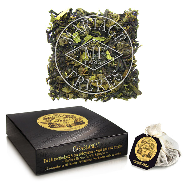 TB908 - CASABLANCA® Black & green tea