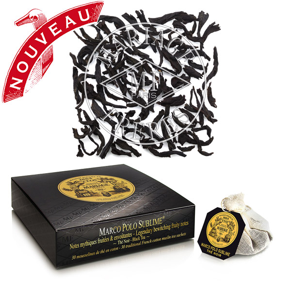 TB9181 - MARCO POLO SUBLIME® Jardin Premier* - Legendary black tea,