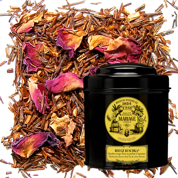 Ruschka , Russian tea : citrus black tea, citrus rooibos or citrus red tea, and gift set