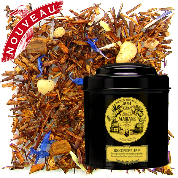TC647 - ROUGE PLEINE LUNE® Almond red tea Rooibos - Jardin Premier*