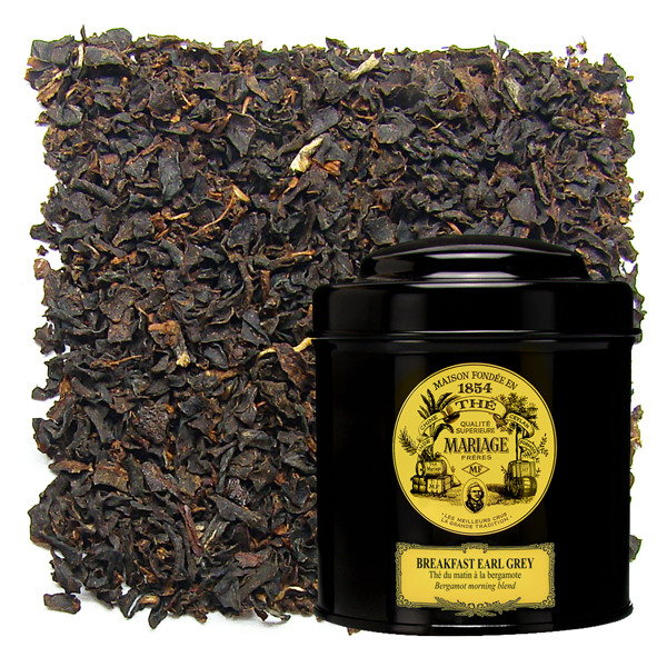 BREAKFAST EARL GREY - Black tea for breakfast - bergamot flavoured morning blend