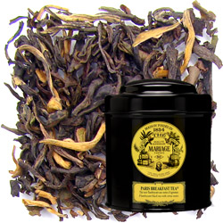 PARIS BREAKFAST TEA® - Flamboyant black tea for breakfast  - with citrus notes