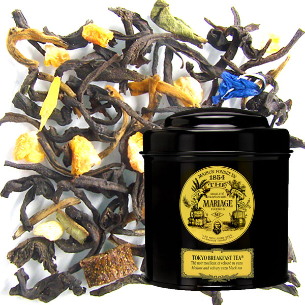 TOKYO BREAKFAST TEA® - Black tea for breakfast - mellow & velvety yuzu tea