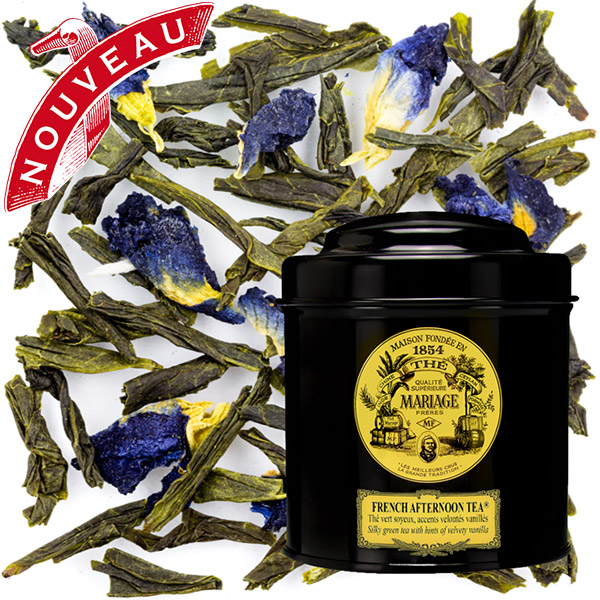 TC7101 - FRENCH AFTERNOON TEA® Silky green tea - Jardin Premier*