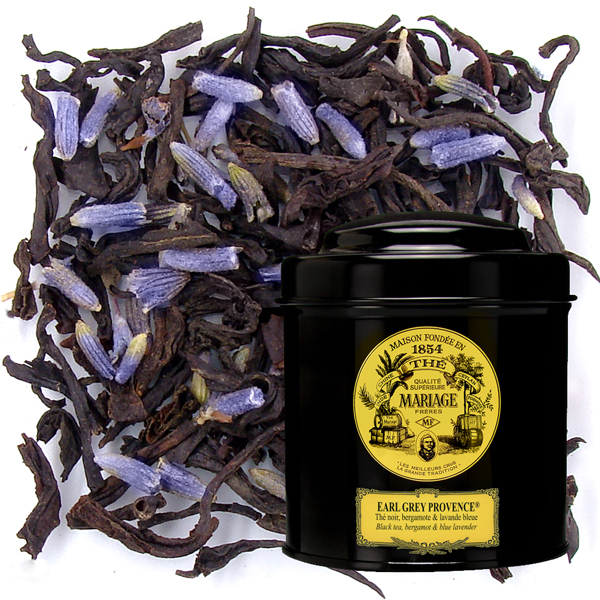 EARL GREY PROVENCE® - Black tea,  - bergamot & blue lavander