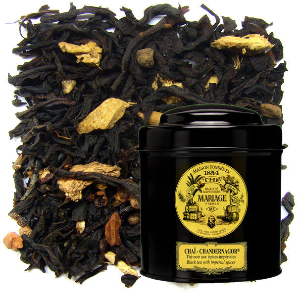 TC8201 - CHAÏ - CHANDERNAGOR® Black tea - Jardin Premier*