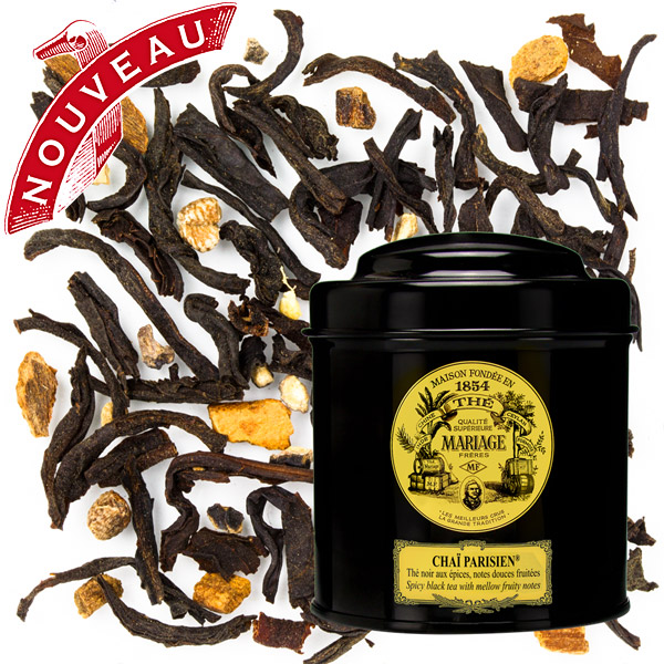 TC8202 - CHAÏ PARISIEN® Black tea - Jardin Premier*