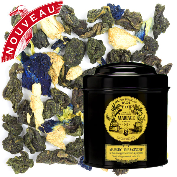 TC8595 - MAJESTIC LIME & GINGER™ Scented blue tea™