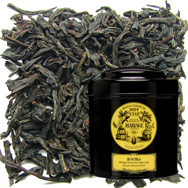 RUSCHKA® - Russian black tea - citrus scent