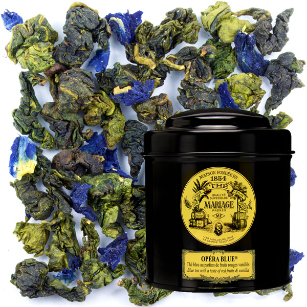 OPÉRA BLUE® - Blue Tea™ with a taste of - red fruits & vanilla