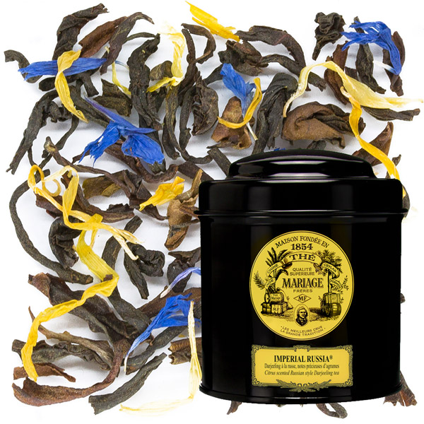 IMPERIAL RUSSIA® - Russian style Darjeeling, - delicate citrus notes