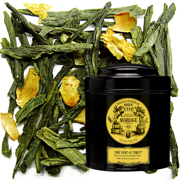 Thé au Tibet : black tea, green tea, white tea, incense stick, tea jelly and gift set. discover the Tibet tea from the french tea company Mariage Freres