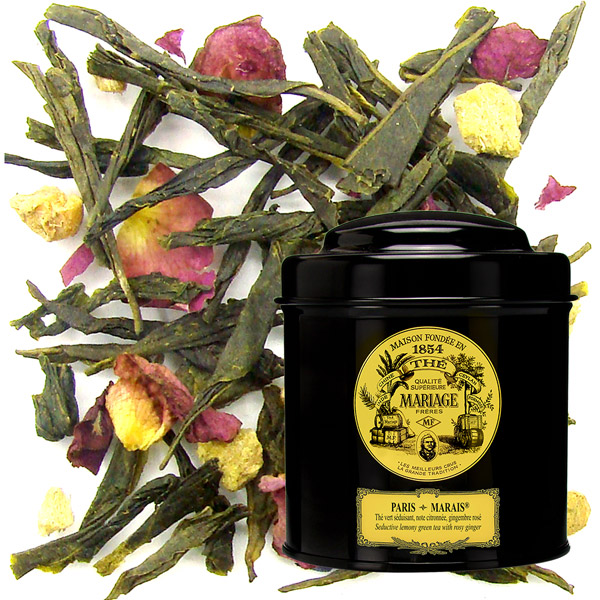 TC9991 - PARIS-MARAIS® Seductive lemony green tea - Jardin Premier*