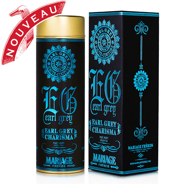 TE8018 - EARL GREY CHARISMA® Flavoured green tea