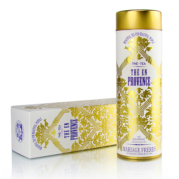 THÉ EN PROVENCE® - Gourmet black tea - fruity - flowery fragrances of Provence