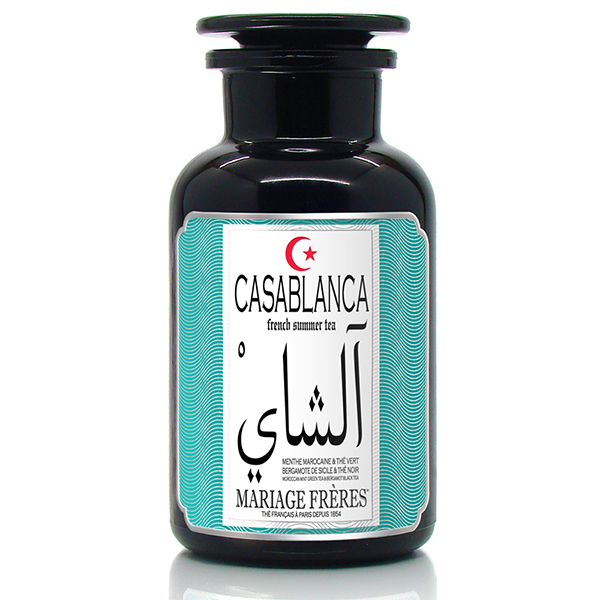 TFG908 - CASABLANCA® Black & green iced tea - Jardin Premier*