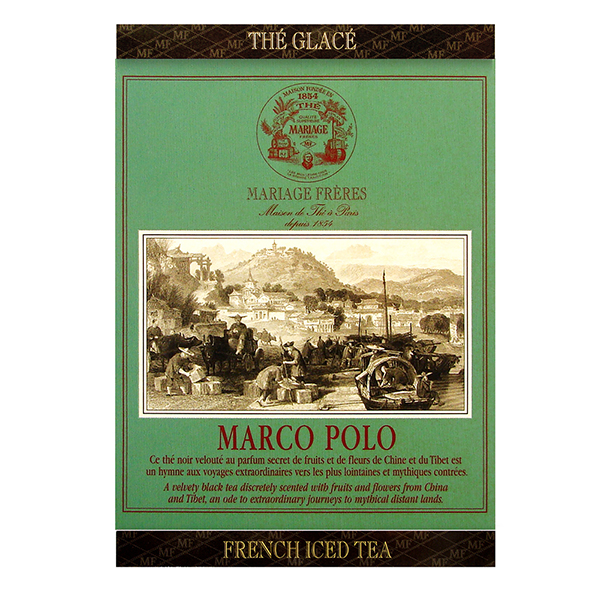MARCO POLO® - Black iced tea in cotton muslin - marvellous tea fruity & flowery