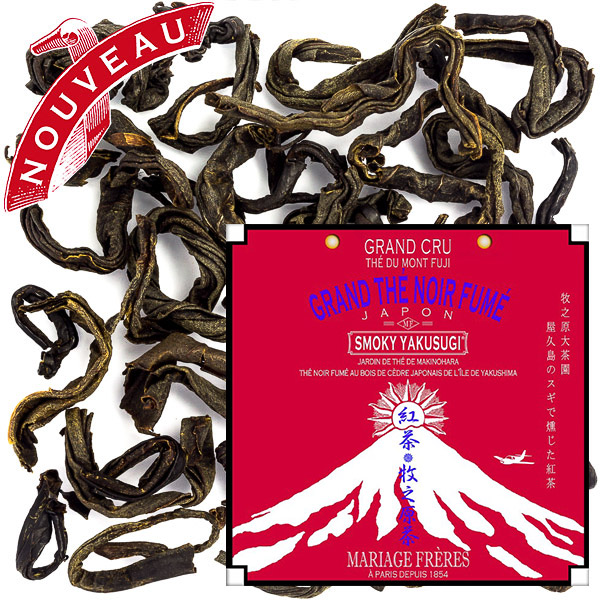 TP4293 - SMOKY YAKUSUGI Grand cru black tea
