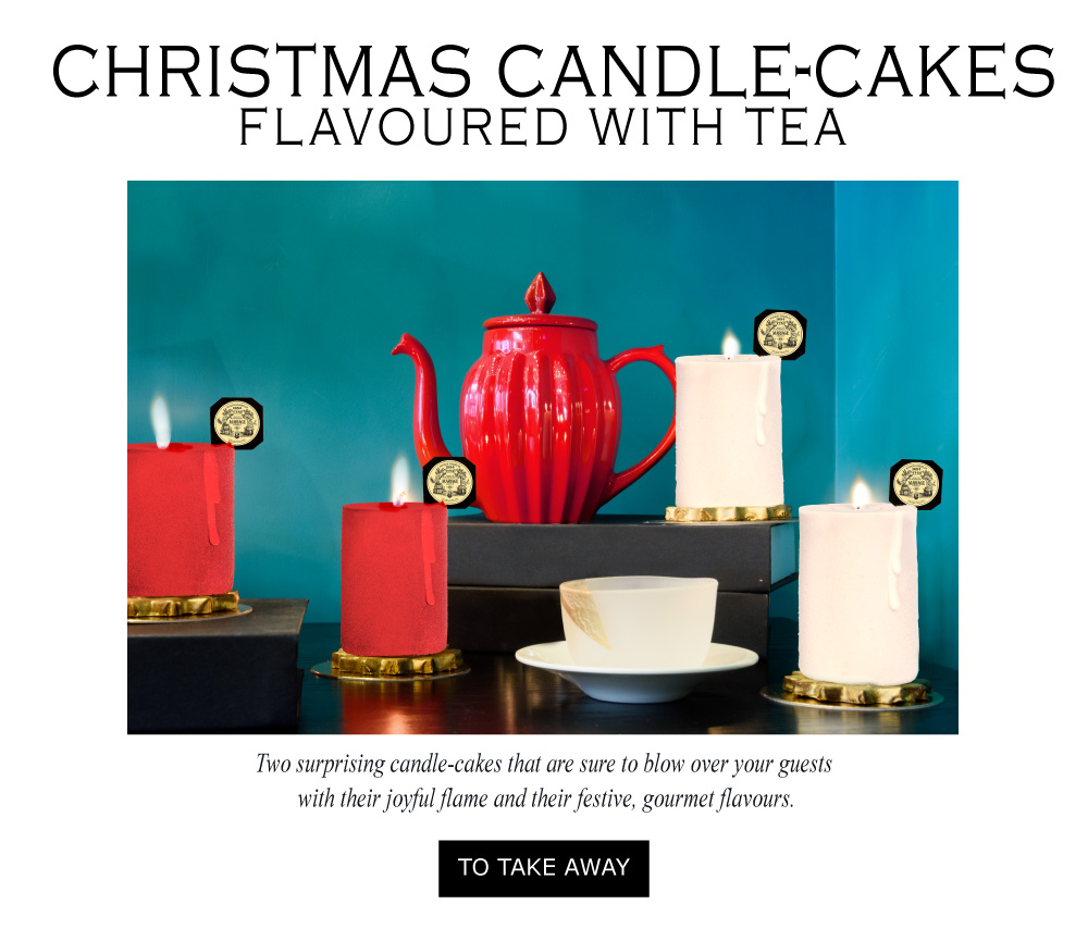 CHRISTMAS PARTY® Christmas candle-cakes ready to blow over your guests with their joyful flame and their gourmet flavours.