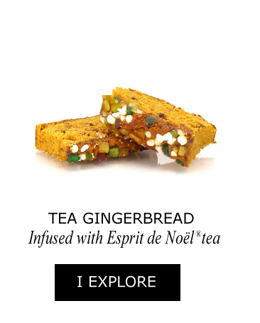 Tea gingerbread infused with Esprit de Noël®