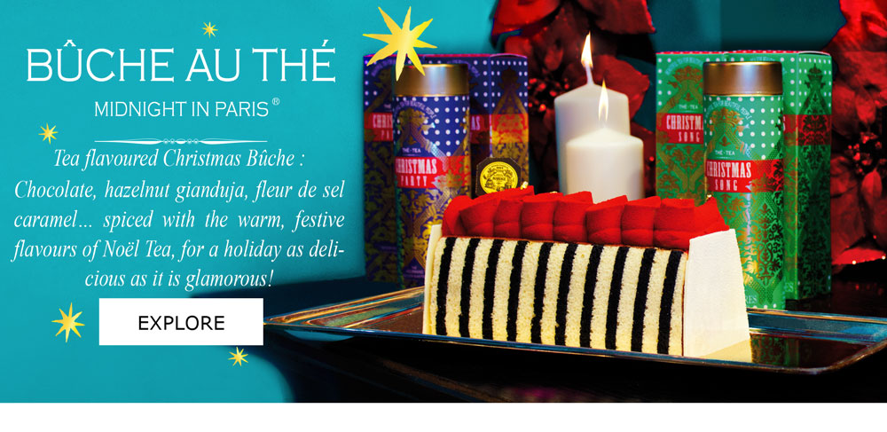MIDNIGHT IN PARIS® CHRISTMAS BUCHE