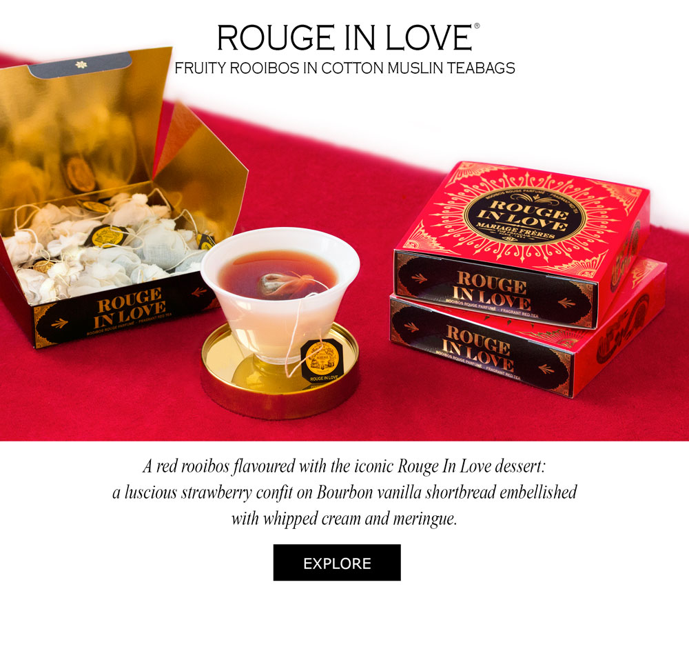 ROUGE IN LOVE® Rooibos rouge parfumé