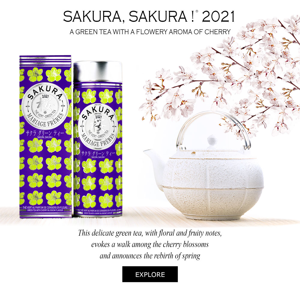 SAKURA 2021® - Flavoured green tea