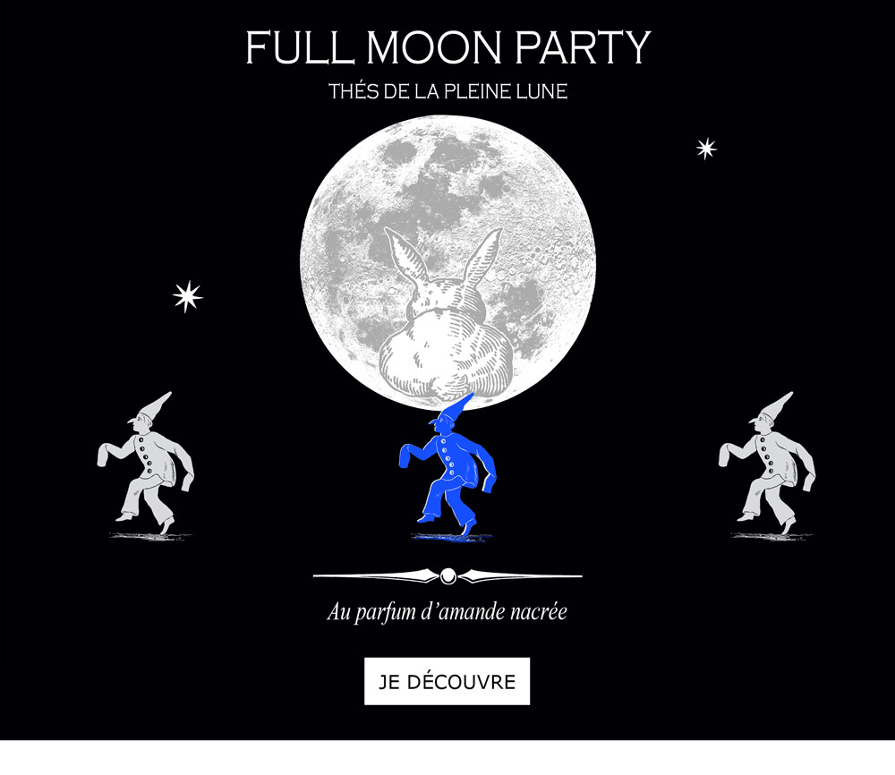 FULL MOON PARTY - Thés de la pleine lune