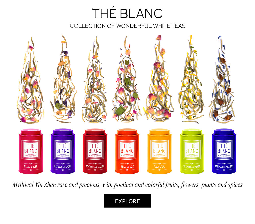 Collection Thé Blanc