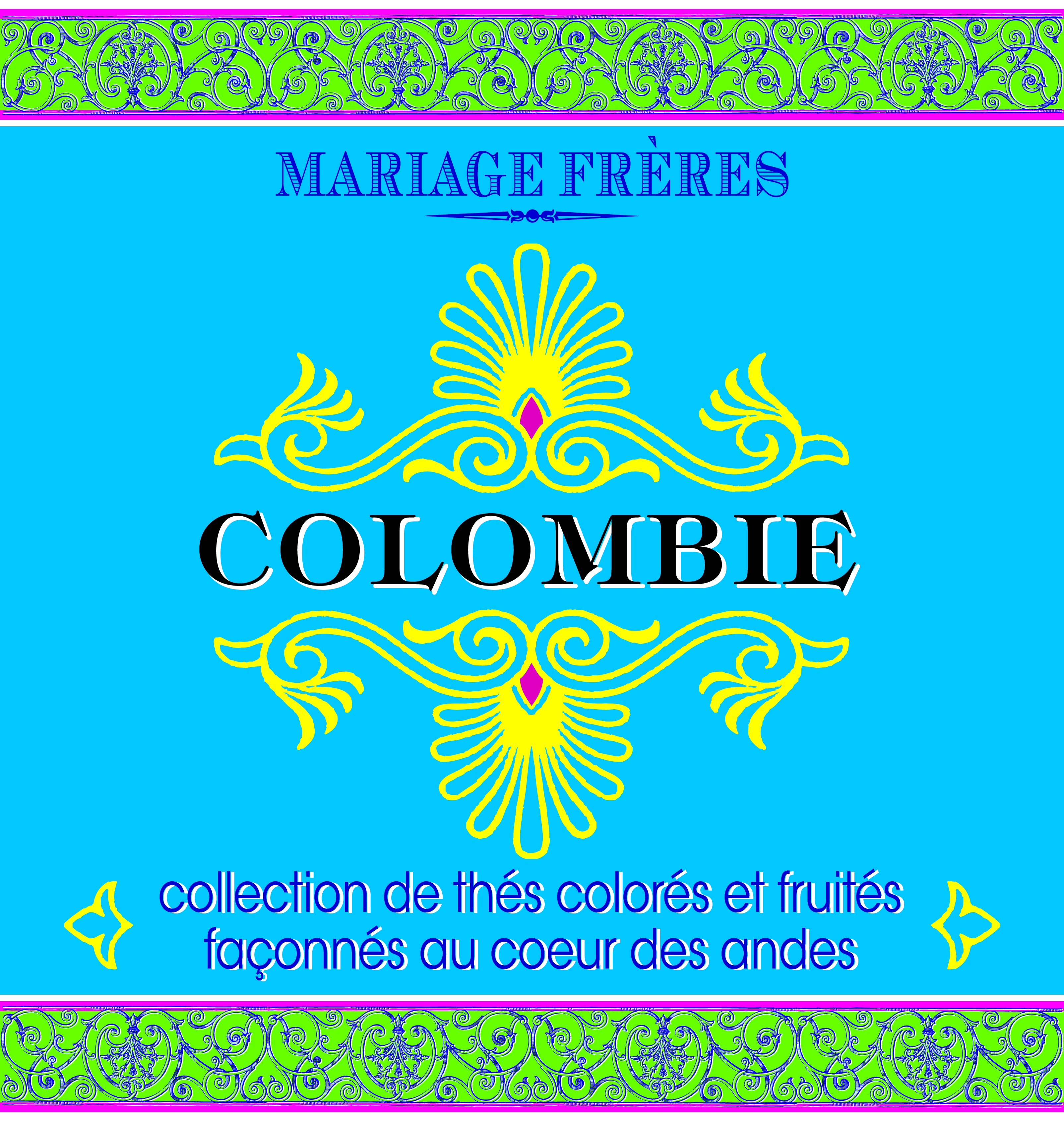 Thés de Colombie : collection of teas from Colombia, fashioned in the heart of the Andes