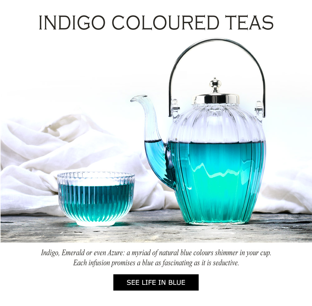 Indigo blue tea