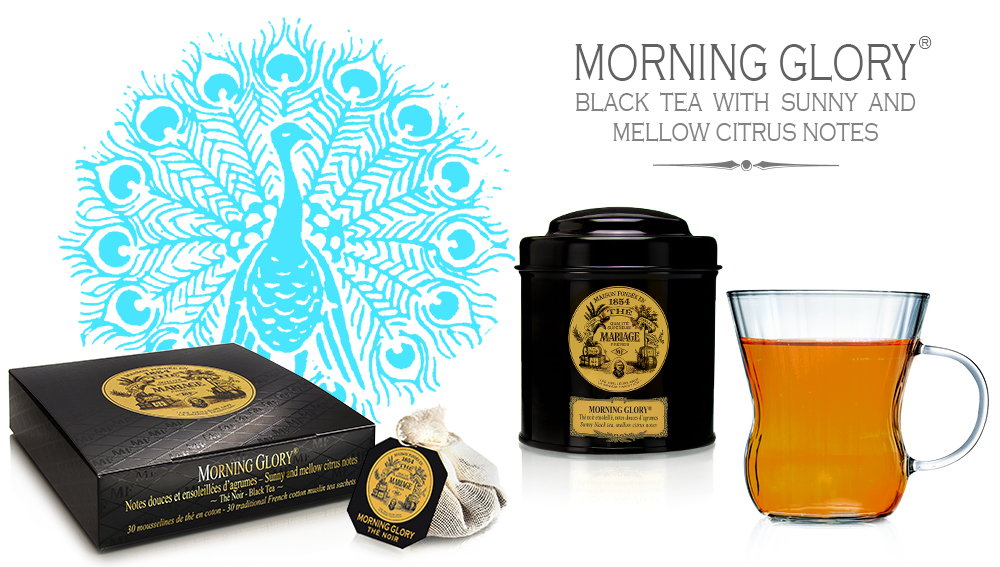 New organic citrus black tea