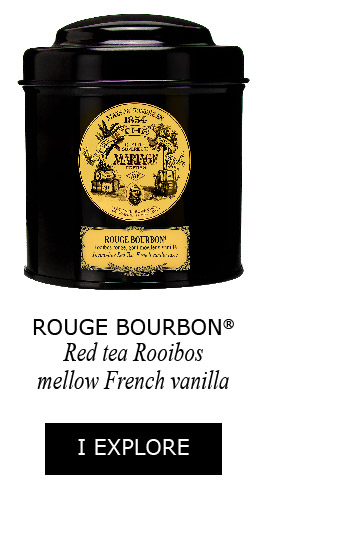 Rouge Bourbon, red tea rooibos mellow French vanilla taste
