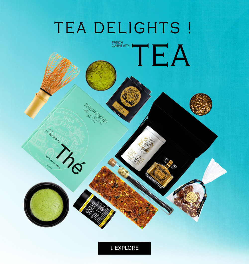 Explore the art of tea cuisine