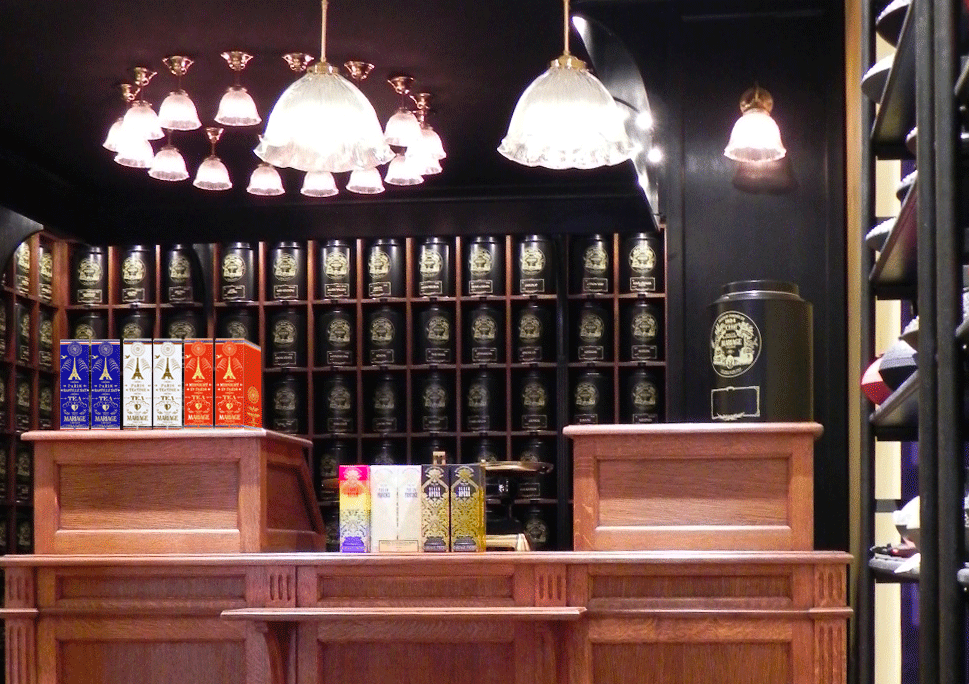 Mariage Frères French tea shop in Paris , Montorgueil