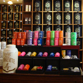 Mariage Frères French tea shop in Paris , tea Emporium in Faubourg Saint Honoré : Étoile