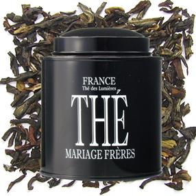 Citrus black tea France- Thé des Lumières