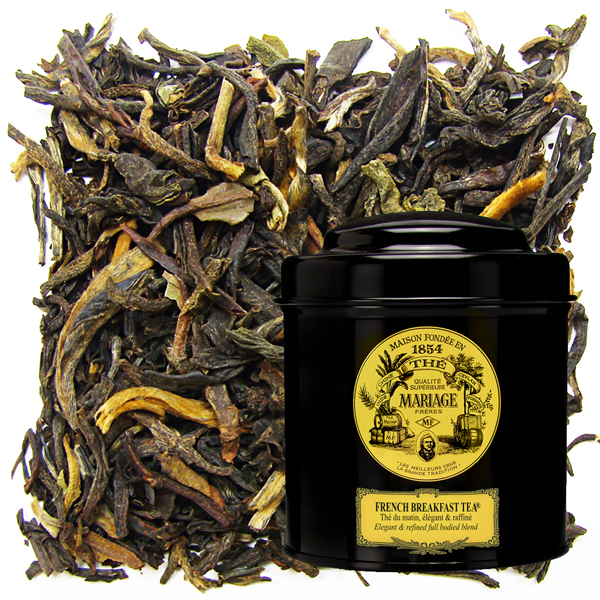 grand tradition :  the french Art of tea blend. Black tea from China, Darjeeling, Assam, Africa or Ceylon. And with green tea, black tea, smoked tea