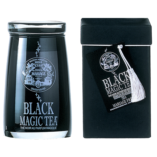 Magic Tea : collection de rooibos rouge, de thé noir et de thé blanc en flacon de verre soufflé