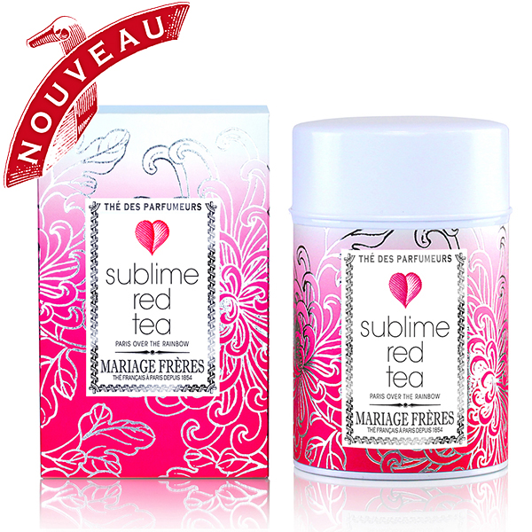 Sublime, a collection made off white tea, black tea, green tea blue tea and rooibos