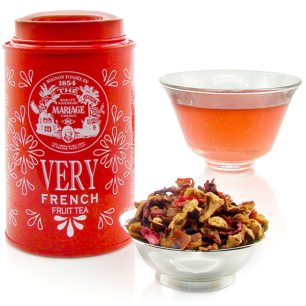 Very Fruit Tea - theine-free collection of infusion made off flowers, fruits, apple, vanilla, caramel, citrus, marron