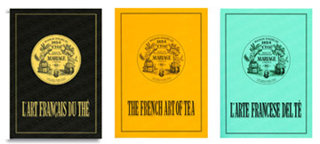 The French Art of Tea : Mariage Frères reference book about Tea