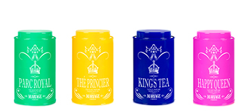 Royal Tea : a collection of flavoured noble tea