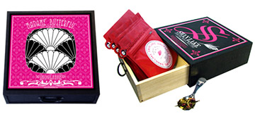 Music Box : Musical gift set with several teas and a silver plated tea caddy spoon