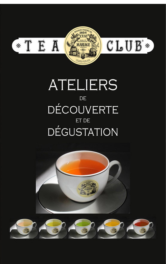 Tea Club : tea workshop in Paris
