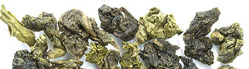 Oolong blue tea from China, Thailand, Darjeeling or New Zealand and even organic oolong blue tea