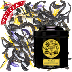 Aviateur in Icône black canister : Darjeeling black tea with floral notes