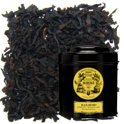 Black Orchid in Icône black canister : vanilla black tea